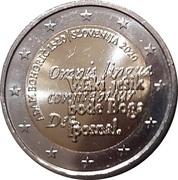2 Euro (Adam Bohorič) -  obverse