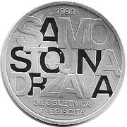 30 Euro (30th anniversary of plebiscite) -  reverse