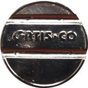Car Wash Token - Avtopralnica Gatis (Vrtojba, Šempeter pri Gorici) – reverse