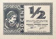 1/2 lire – obverse