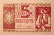 5 lira – reverse