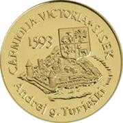 5000 Tolarjev (Battle of Sisek) – reverse