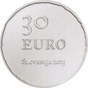 30 Euro (Tolmin Peasant Revolt) -  obverse