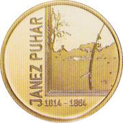 100 Euro (Janez Puhar) -  reverse