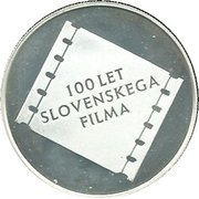 5000 Tolarjev (Centennial of Slovene Film) -  reverse