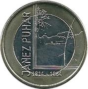3 Euro (Janez Puhar) -  reverse