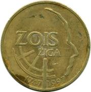 5 Tolarjev (Žiga Zois) – reverse