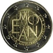 2 Euro (Emona-Ljubljana) -  obverse