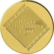 25 000 Tolarjev (Centennial of Slovene Film) -  reverse