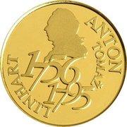 25 000 Tolarjev (250th Birthday of Anton Tomaž Linhart) -  reverse