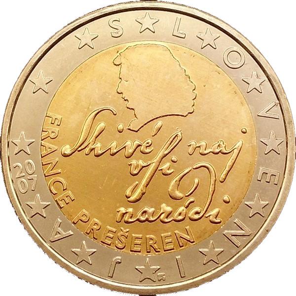 2 euro 2nd map slovenia numista