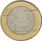 3 Euro (May Declaration) -  obverse