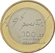 3 Euro (May Declaration) -  reverse