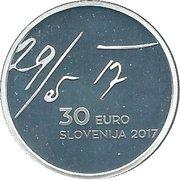 30 Euro (May Declaration) -  obverse