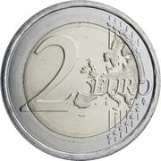 2 Euro (World Bee Day) -  reverse