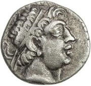 1 Tetradrachm (Euthydem imitation; Sogdiana; Greek legend only) – obverse