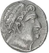 1 Tetradrachm (Euthydem imitation; Sogdiana; Sogdian legend only) – obverse