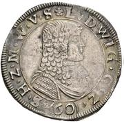 1 Gulden - Ludwig – obverse