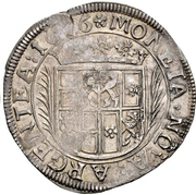 1 Gulden - Ludwig – reverse