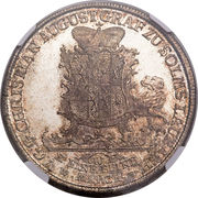 1 Thaler - Christian August – obverse