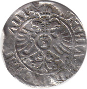 3 Kreuzer - Ernst II. – reverse