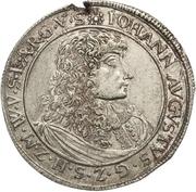 1 Gulden - Johann August – obverse