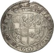 1 Gulden - Johann August – reverse
