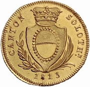 8 Franken – obverse