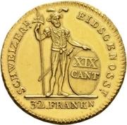 32 Franken – reverse