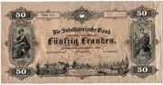 50 Francs (Solothurnische Bank) -  obverse