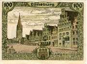 100 Pfennig (Heimatbund Lohengau) – reverse