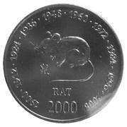 10 Shillings (Rat) – reverse