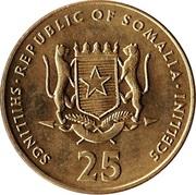 25 Shillings (Soccer) -  obverse
