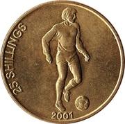 25 Shillings (Soccer) -  reverse