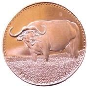 5 Shillings (Water Buffalo) – reverse