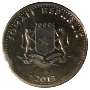 10 Shillings (Rhino) – obverse