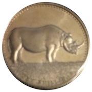 10 Shillings (Rhino) – reverse