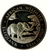 50 Shillings (Elephant) -  obverse