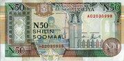 50 Shilin / 50 Shillings – obverse