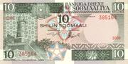 10 Shilin / 10 Shillings – obverse