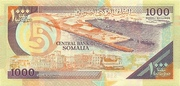 1000 Shilin / 1000 Shillings 1990 (Puntland) – reverse