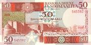 50 Shilin / 50 Shillings -  obverse