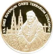 5 Dollars (Pope Benedict XVI - World Youth Day in Cologne) – reverse