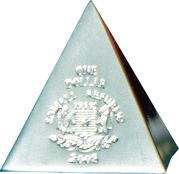 1 Dollar (Volume geometrical figures - Pyramid) – obverse