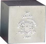 1 Dollar (Volume geometrical figures - Cube) – obverse