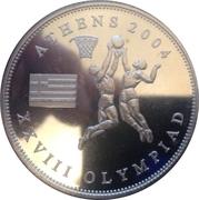 1 Dollar (Athens Olympics) – reverse
