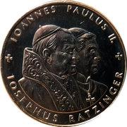 1 Dollar (Pope Benedict) – reverse
