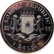 1 Dollar (Pope Benedict) – obverse