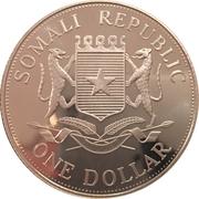 1 Dollar (Olympic Games) – obverse