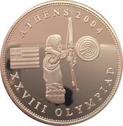 1 Dollar (Olympic Games) – reverse